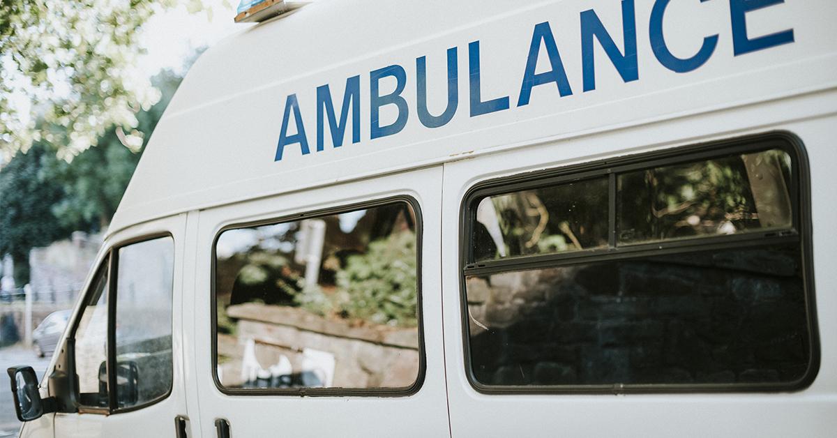 ¿Cual es la importancia de la presencia de ambulancias en eventos?